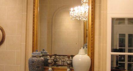 Miroir restauré Grand Hôtel du Lac Vevey
