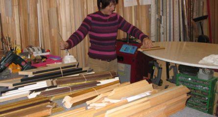 Assemblage de bois pour de l'encadrement