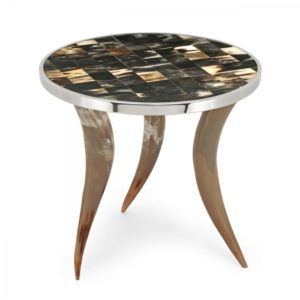 Table en corne