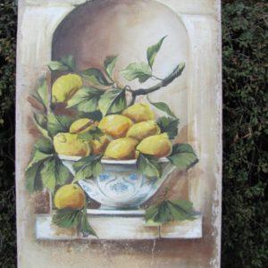 Vasque aux citrons