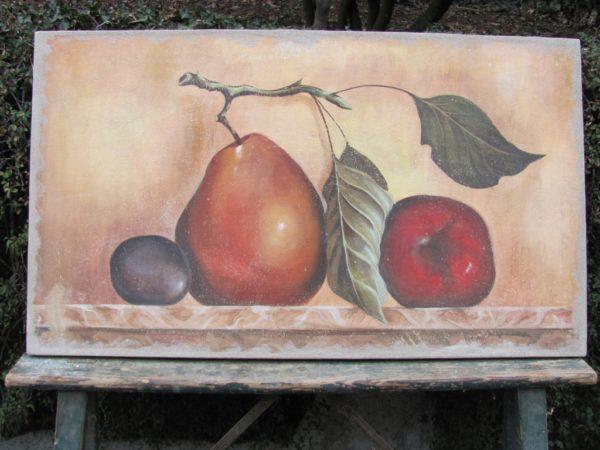 Grande poire & prune