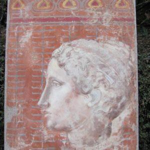 Portrait de belle romaine