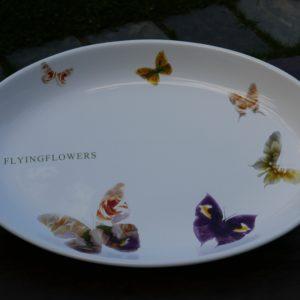 Plat ovale grand Ceramiche Viva