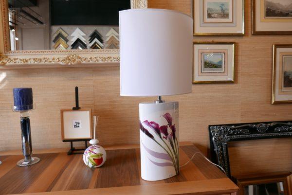 "Lampe ""Goutte"" taille moyenne ""Purple"""