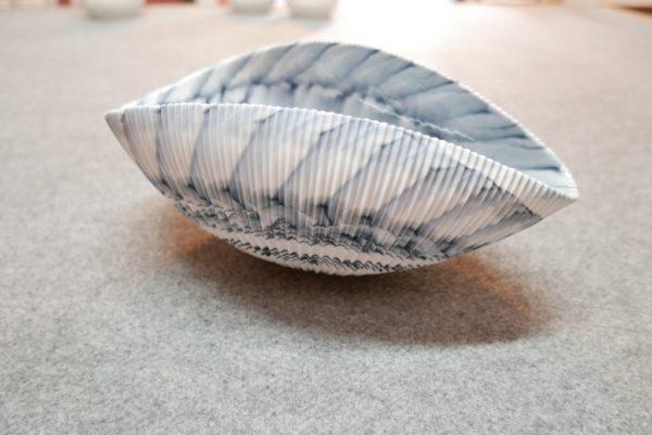 Plat coquillage nacré de Murano